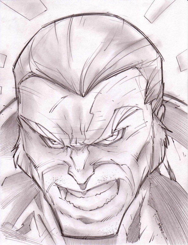 I Force Sketchshot by StevenSanchez