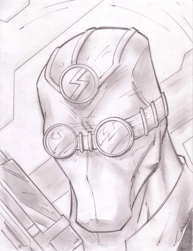 Silencer 2 Sketchshot by StevenSanchez