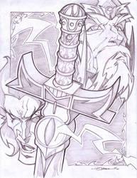 Thundercats piece by StevenSanchez