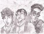 GhostBusters Gang Sketchshot