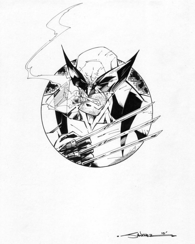 Wolverine circle series by stevensanchez on deviantart - Wolverine dessin ...