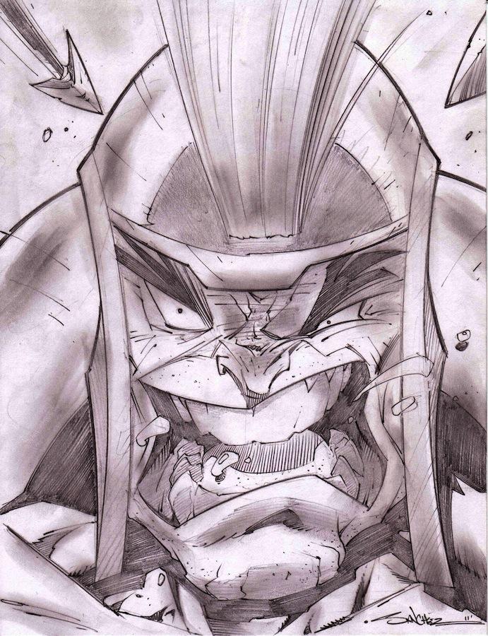 Planet Hulk Sketch Shot by StevenSanchez on DeviantArt