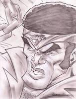 CAGE Sketch Shot by StevenSanchez