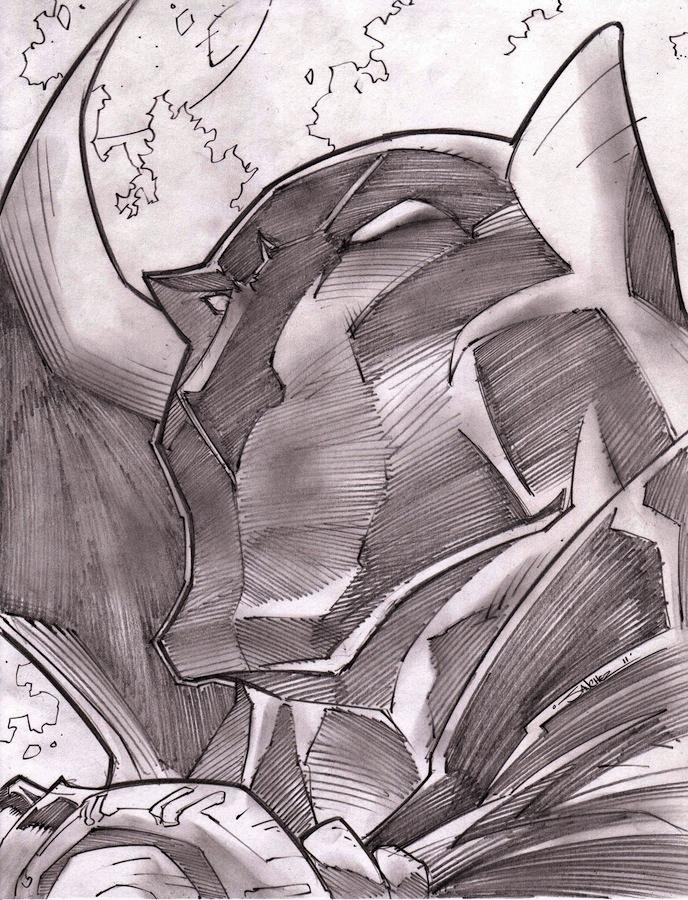 Black Panther Sketch Shot by StevenSanchez