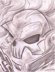Ghost Rider Sketch Shot by StevenSanchez