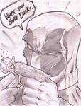 Deadpool Sketch Shot