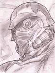 Star lord Sketch Shot