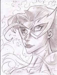 Firestar Sketch Shot