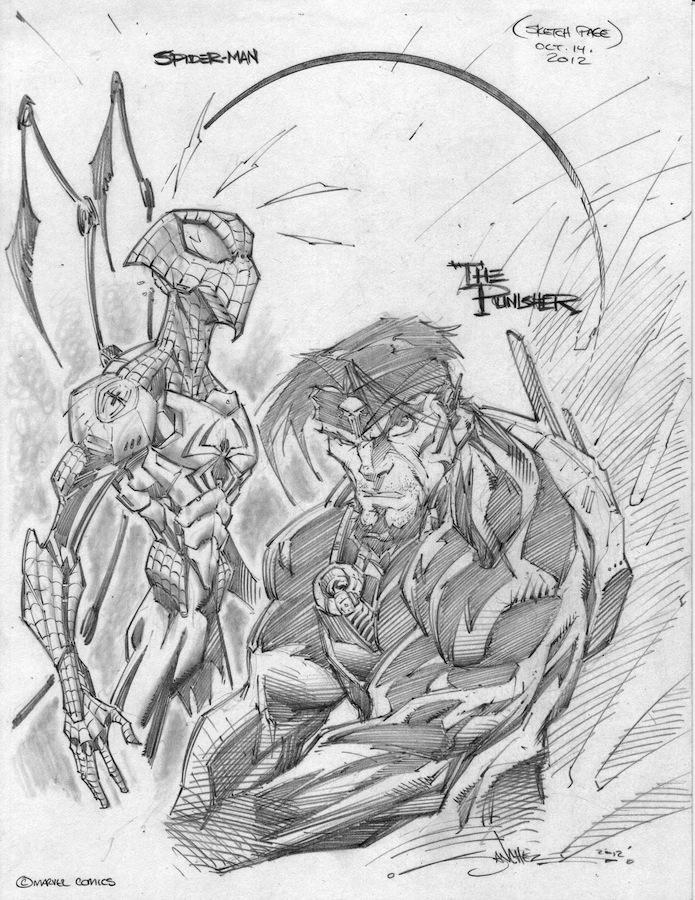 ReHash SpiderMan Punisher by StevenSanchez