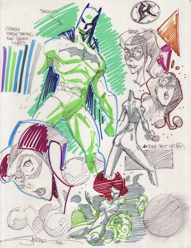 Shorthand Sketch 01 by StevenSanchez