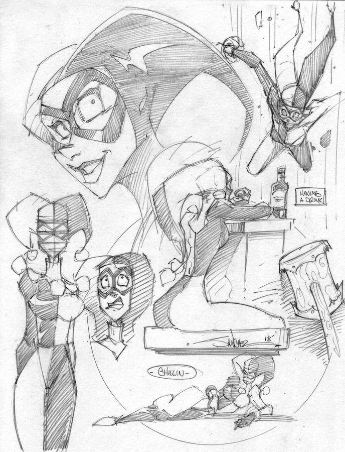 Harley Scraps 1 by StevenSanchez