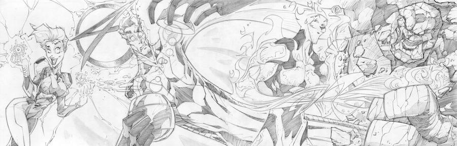 Fantastic Four ReVisted by StevenSanchez