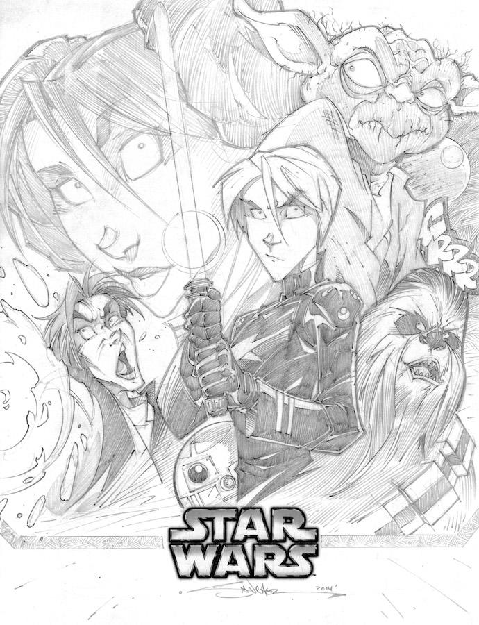 Star Wars by StevenSanchez
