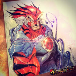 Thundercats Tygra by StevenSanchez