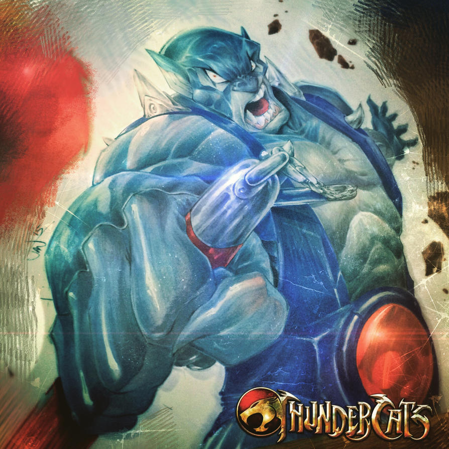 Thundercats Panthro by StevenSanchez