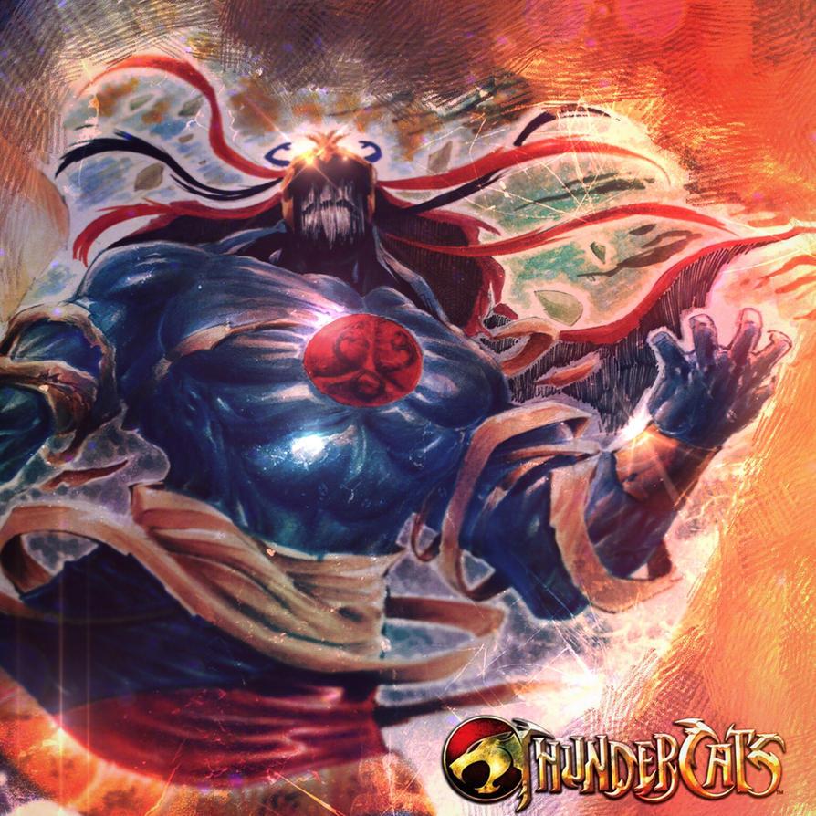 Thundercats Mumm Ra by StevenSanchez