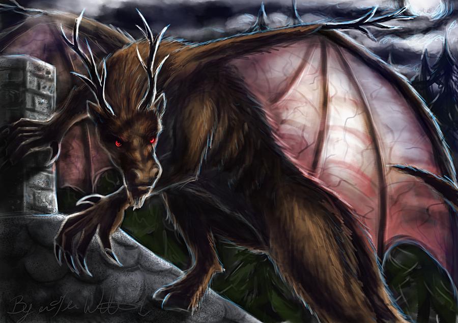 February: The Jersey Devil by pyro-helfier