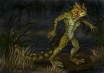 June: The Lizardman