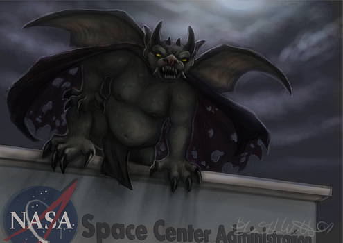 July: The NASA Gargoyle