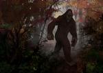 October: Bigfoot