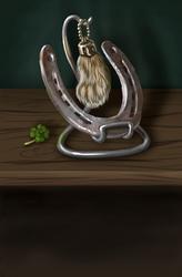 Lucky Jackalope's Foot by pyro-helfier
