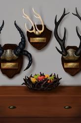 Jackalope Antlers by pyro-helfier