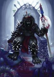 Bloodmane Takes the Throne by pyro-helfier