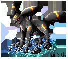 Umbreon pixel by Ravoilie