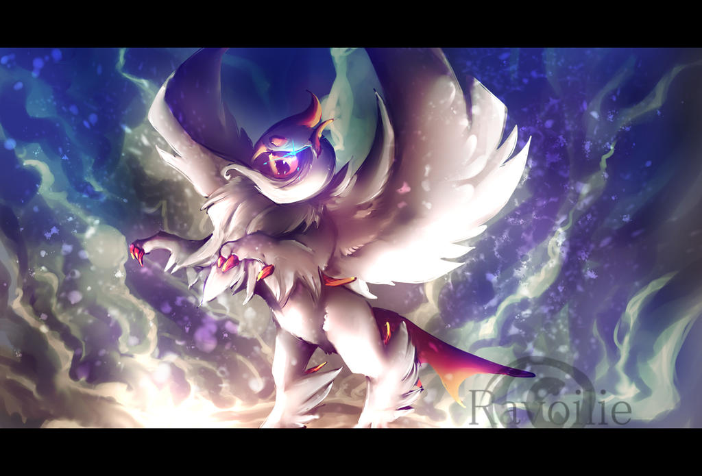 Mega absol by Ravoilie on DeviantArt
