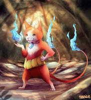 Jibanyan by Ravoilie