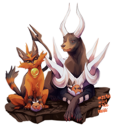 -Painted- pokeartdex 01 by Ravoilie