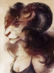 -Experiemental portrait- Ravy by Ravoilie