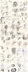Doodle dump 33 by Ravoilie