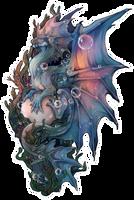 -Themed dragon- Oceanic