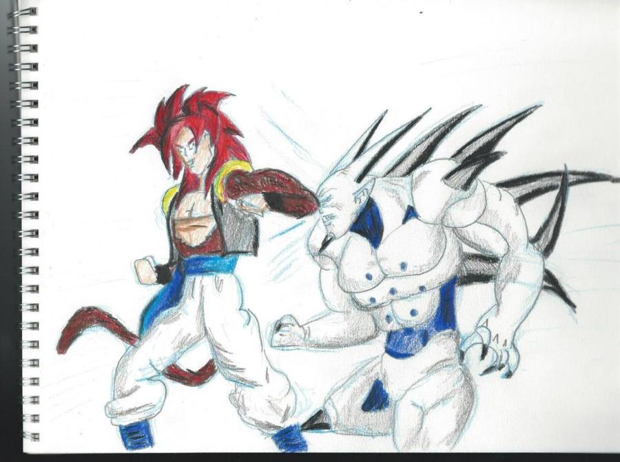 Omega Shenron Vs Kid Buu gogeta vs omega shenron