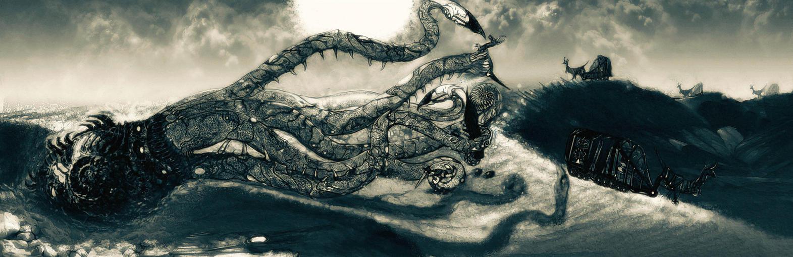 Sand Kraken Variant by ezeleolos on DeviantArt