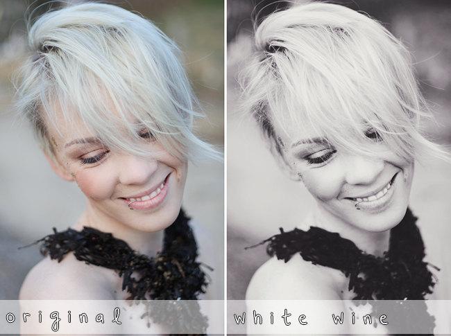 White Wine - Photoshop Action by CarpeSav