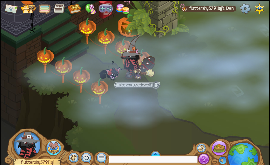 my halloween costume on animal jam lol by fluttershy57911aj