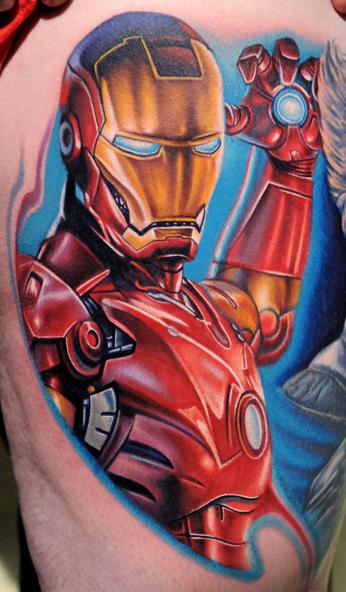 Iron man tattoo by NIKKO by 6indestructible66
