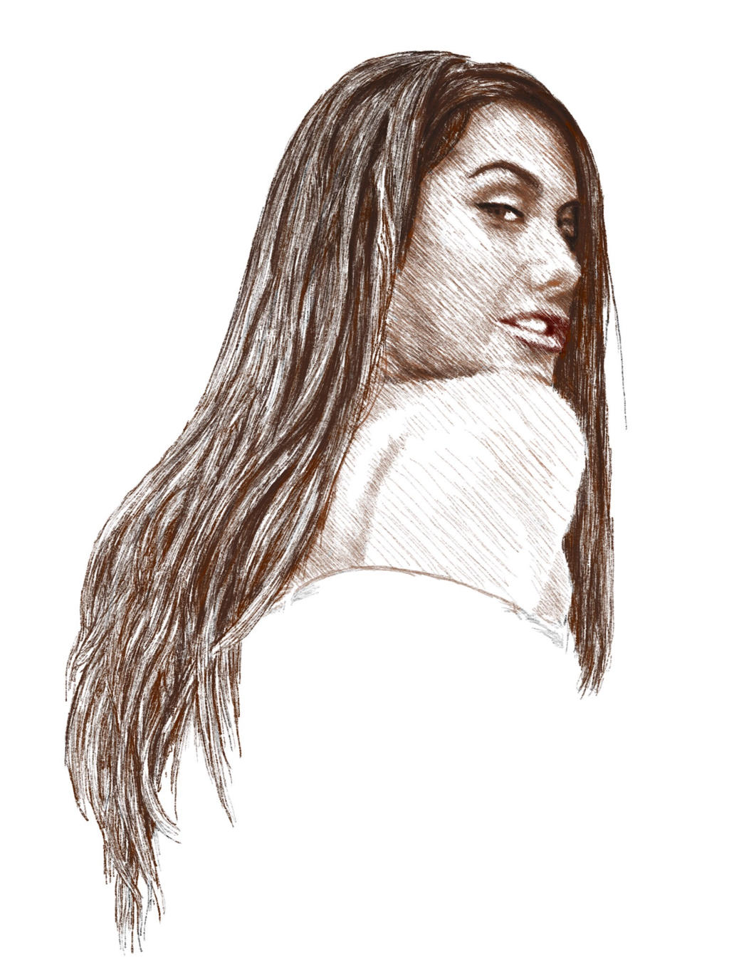 August ames drawing