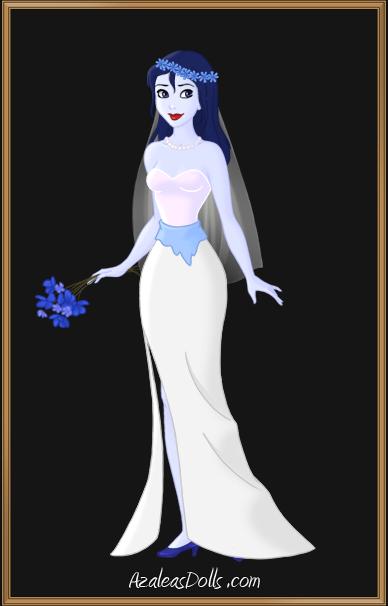 Emily the Corpse Bride AzaleasDolls by VanessaSwann13