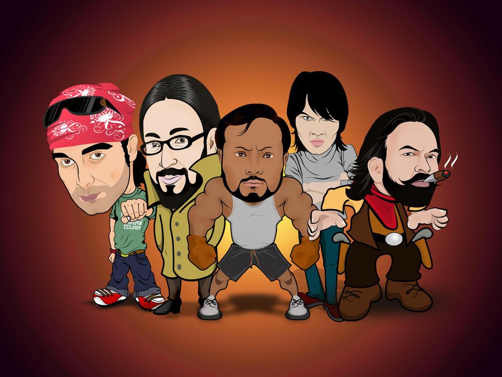 Digital Caricature by mrmohiuddin