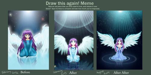 Draw it Again_Angel of Water2014 by Meya-san