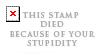 Stupidity by Foxxie-Chan