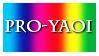 Pro-Yaoi Stamp by Foxxie-Chan