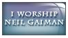 I Worship Neil Gaiman by Foxxie-Chan