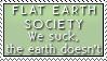 Flat Earth - No Brain by Foxxie-Chan