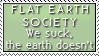 Flat Earth - No Brain by Foxxie-Chan
