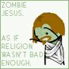 Zombie Jesus by Foxxie-Chan