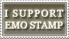 I SUPPORT EMO STAMP